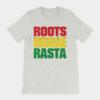Roots Reggae Rasta Cracked Grey