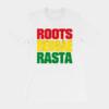 Roots Reggae Rasta Cracked White